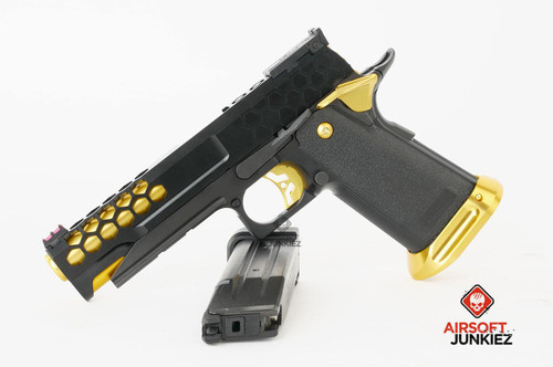 "Airsoftjunkiez Custom Hi-Capa ""Honey"""