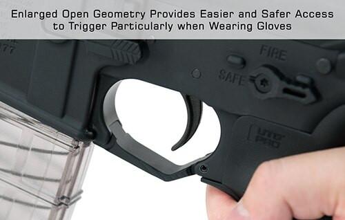 UTG® AR15 Oversized Trigger Guard, Matte Blue