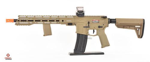 EMG Helios F4 Defense Licensed F4-15 ARS-L MLOK M4 Airsoft AEG Rifle - FDE