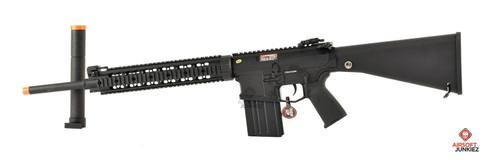 CYMA Platinum SR-25 QBS Airsoft AEG Designated Marksman Rifle
