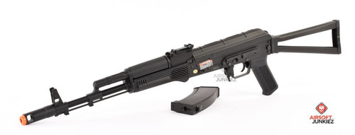 CYMA Standard Stamped Metal AK74 Airsoft AEG Rifle w/ Steel Folding Stock