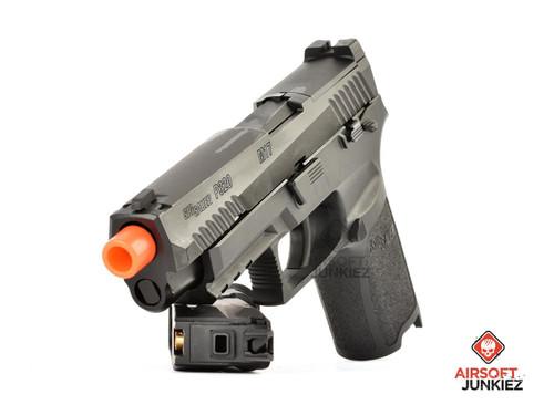 Sig Proforce M17 Green Gas Blowback Pistol - Black