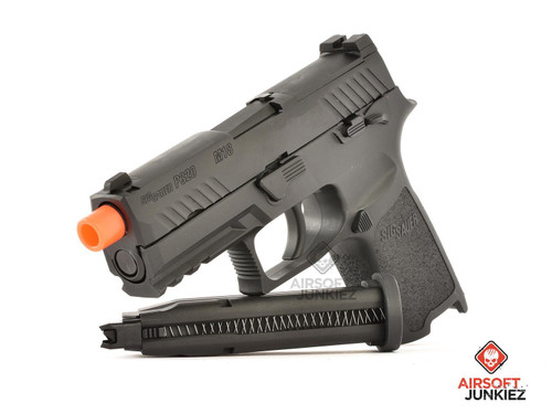 Sig Proforce M18 Green Gas Blowback Pistol - Black