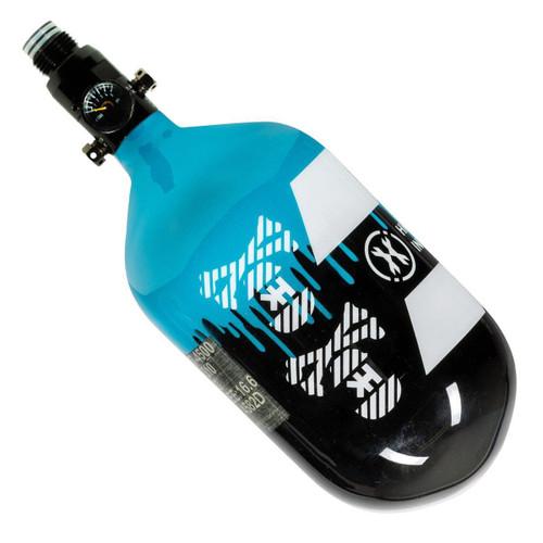 HK ARMY Off Break Drip - Extra Lite 68/4500 Black/Turquoise