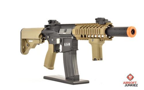 Specna Arms EDGE Series | Black & Tan CQB Suppressed