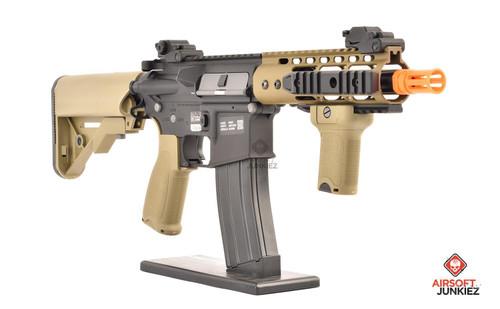 Specna Arms EDGE Series | Black & Tan PDW Keymod (SA-E12-HT)