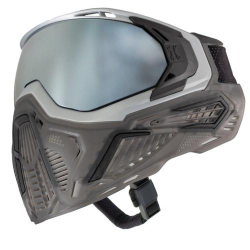 HK Army SLR Goggle - Graphite (Silver/Black/Smoke) Silver Lens