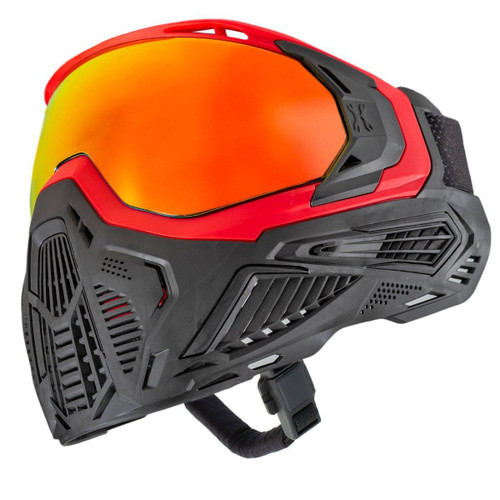HK Army SLR Goggle - Flare (Red/Black) Scorch Lens