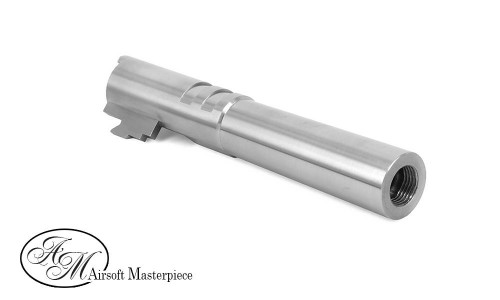 Airsoft Masterpiece .45 ACP STEEL Threaded Fix Outer Barrel for Hi-CAPA 4.3