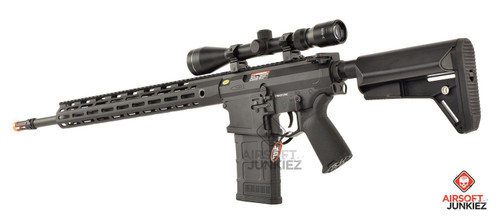 CYMA Platinum SR-25 QBS Airsoft AEG Designated Marksman Rifle | 16.5 M-LOK