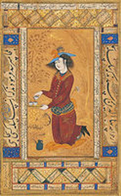 Persian miniature , hand painted art , Persian painting ,art