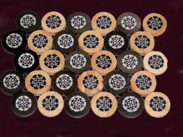 طاوله الزهر backgammon chips