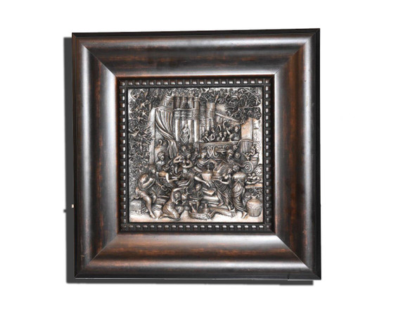 engraving on silver  silver art