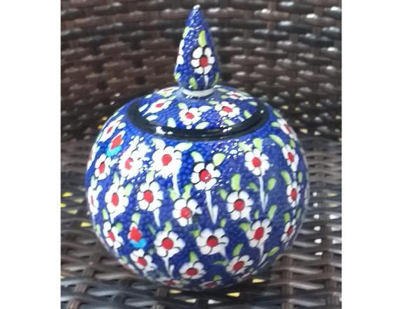 candy jar ceramic jar