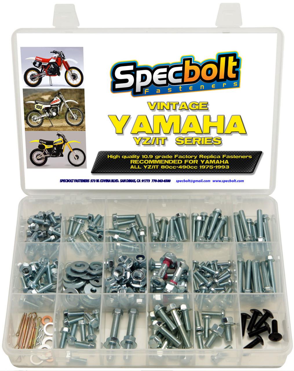 Yamaha Vintage Yz It 2 Stroke 250pc Bolt Kit