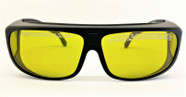LG-968 765 nm to 1100 nm Laser Safety Glasses Fitover High Vis