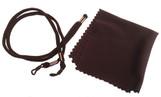 Laser eyewear cleaning cloth & headstrap