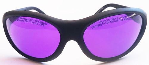 LG-013N 576 - 600nm Dye Laser Safety Glasses - Modern