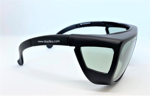 LG-090 - 2100 nm OD 5+ Holmium & CO2 OD 6+ Laser Safety Glasses EN207 - Lightweight