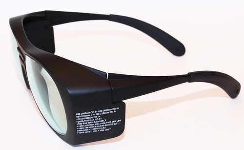 LG-080 - Holmium YAG Laser Safety Glasses 2100 nm & 1064 nm