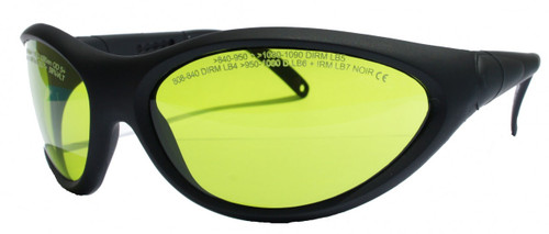 LG-001N Modern Nd:YAG & 810nm Laser Safety Glasses - Adjustable