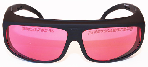 LG-118 Alexandrite Laser safety Glasses - 755nm & 810nm OD 7