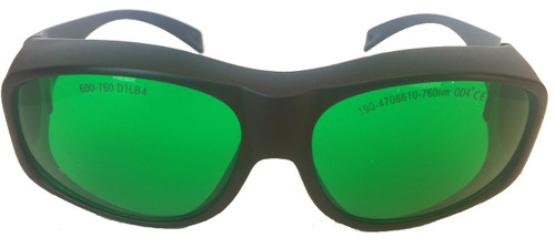 LG-004L Red Laser Safety Glasses Front View