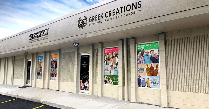 Greek Creations stroefront