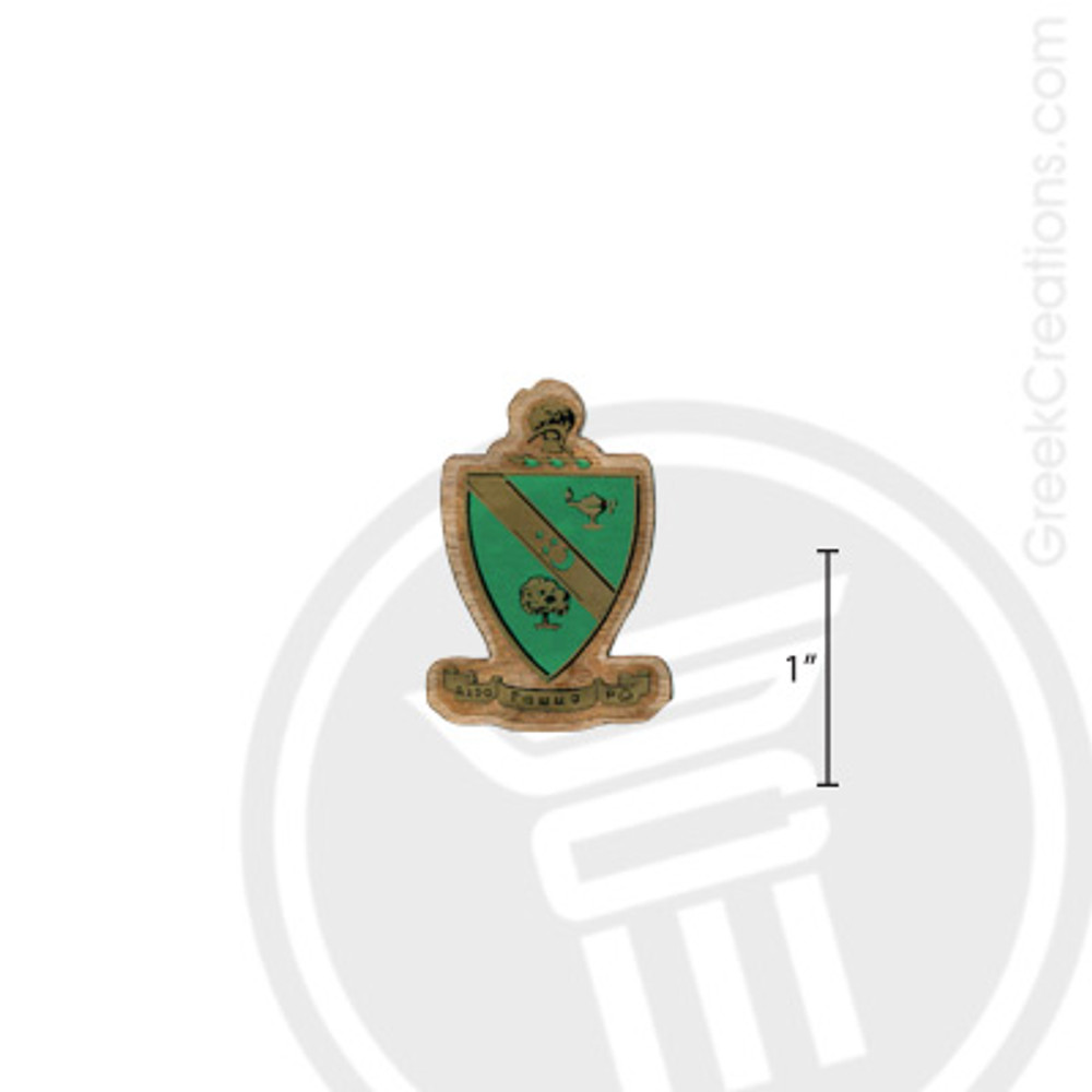 Alpha Gamma Rho Small Raised Wooden Crest