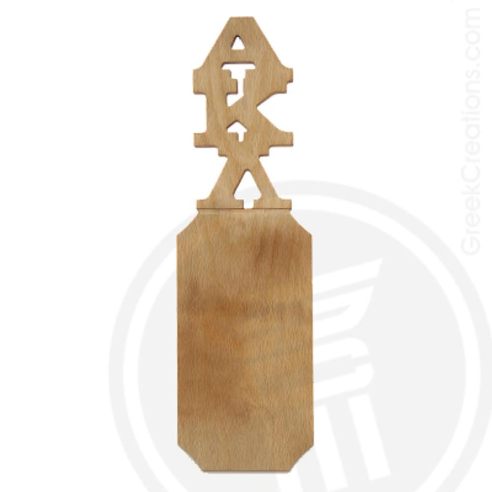 Alpha Kappa Lambda 21 Inch Blank Greek Letter Paddle
