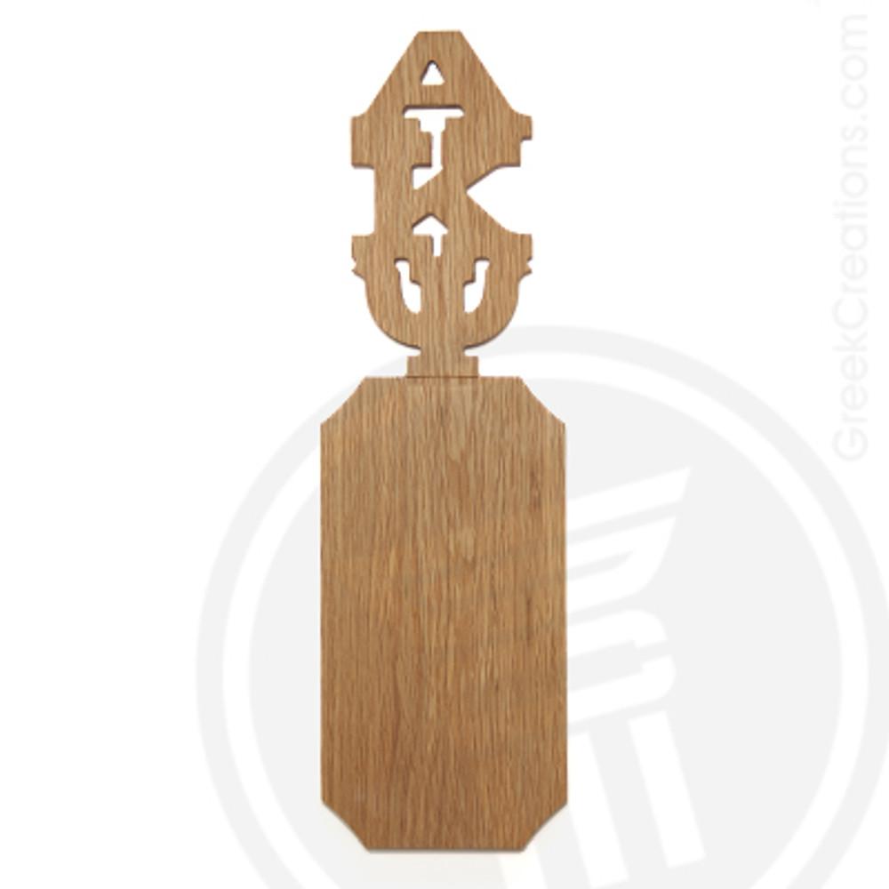 Alpha Kappa Psi 21 Inch Blank Greek Letter Paddle