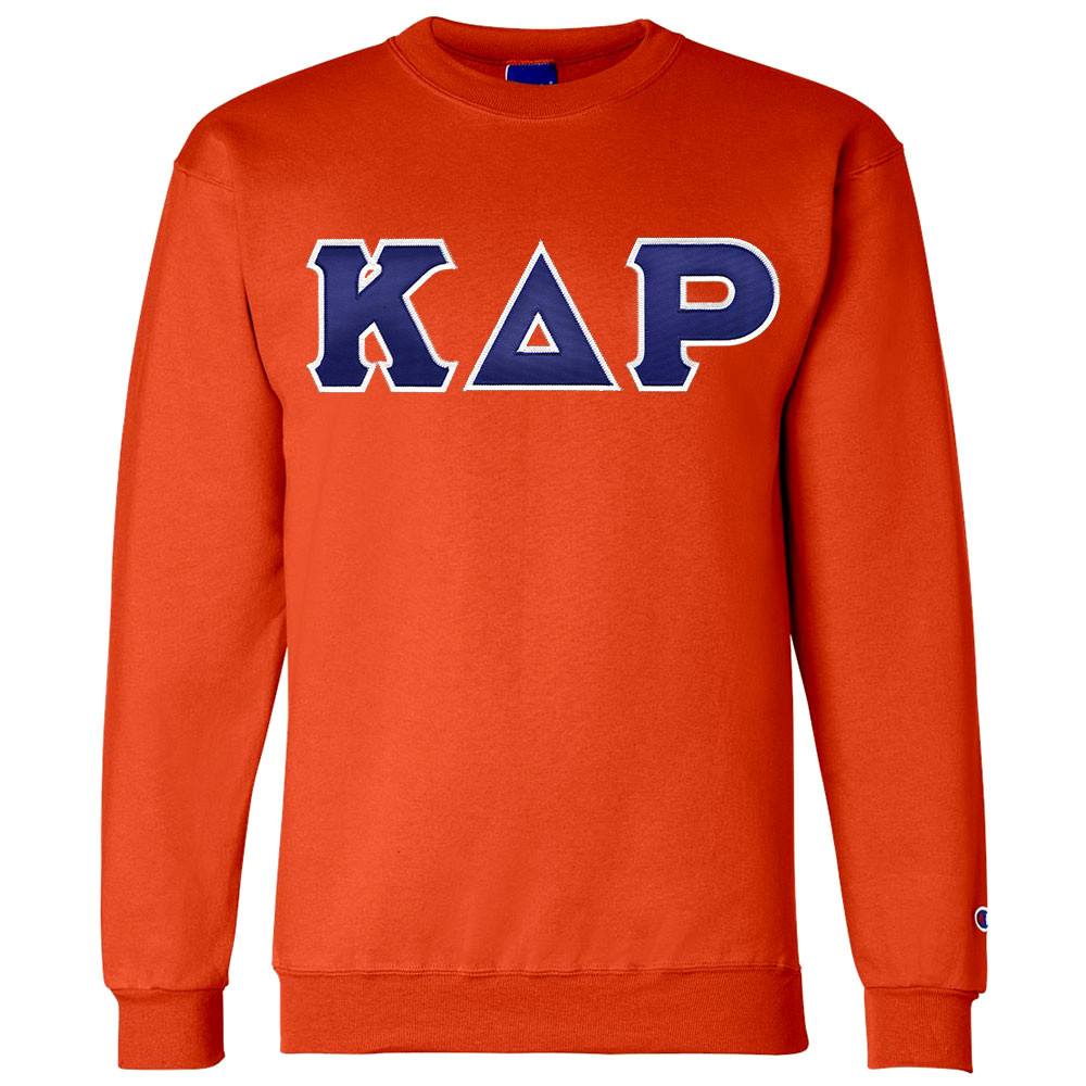 Fraternity & Sorority Lettered Champion Crewneck Sweatshirt
