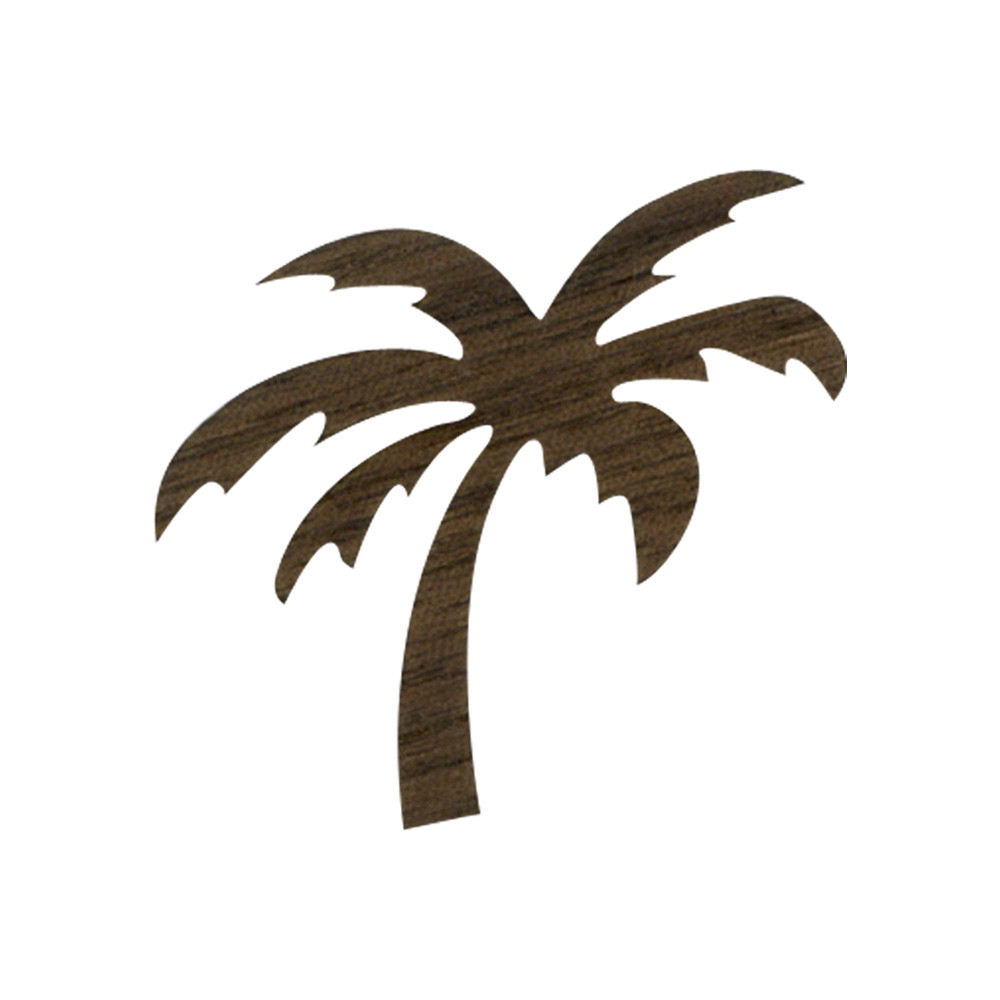 Wooden Palm Tree Symbol