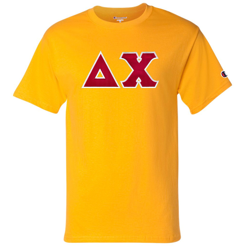 Fraternity & Sorority Lettered Champion Short Sleeve T-Shirt