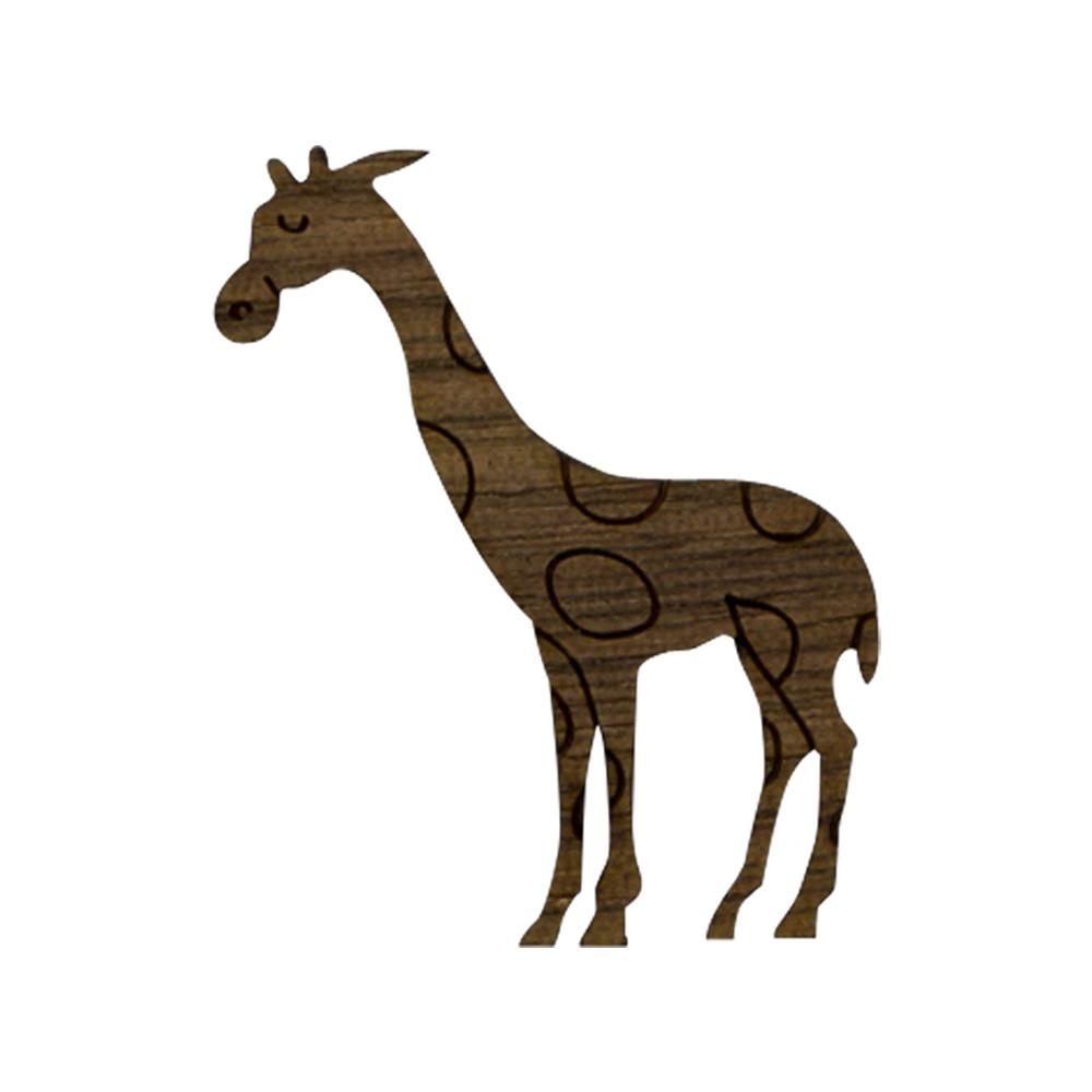 Wooden Giraffe Symbol