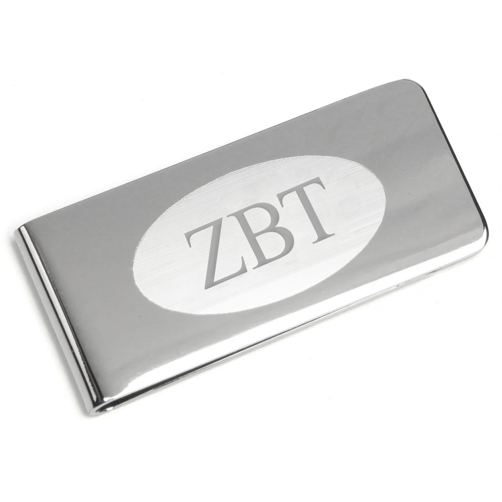 Fraternity Silver Money Clip