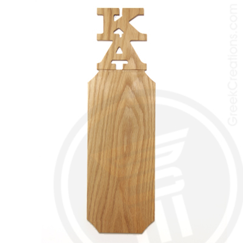Kappa Alpha 21 Inch Blank Greek Letter Paddle