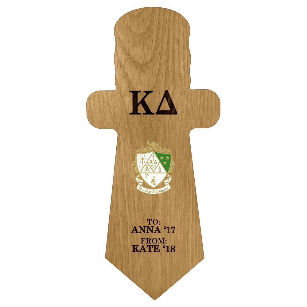Kappa Delta Dagger Paddle Plaque