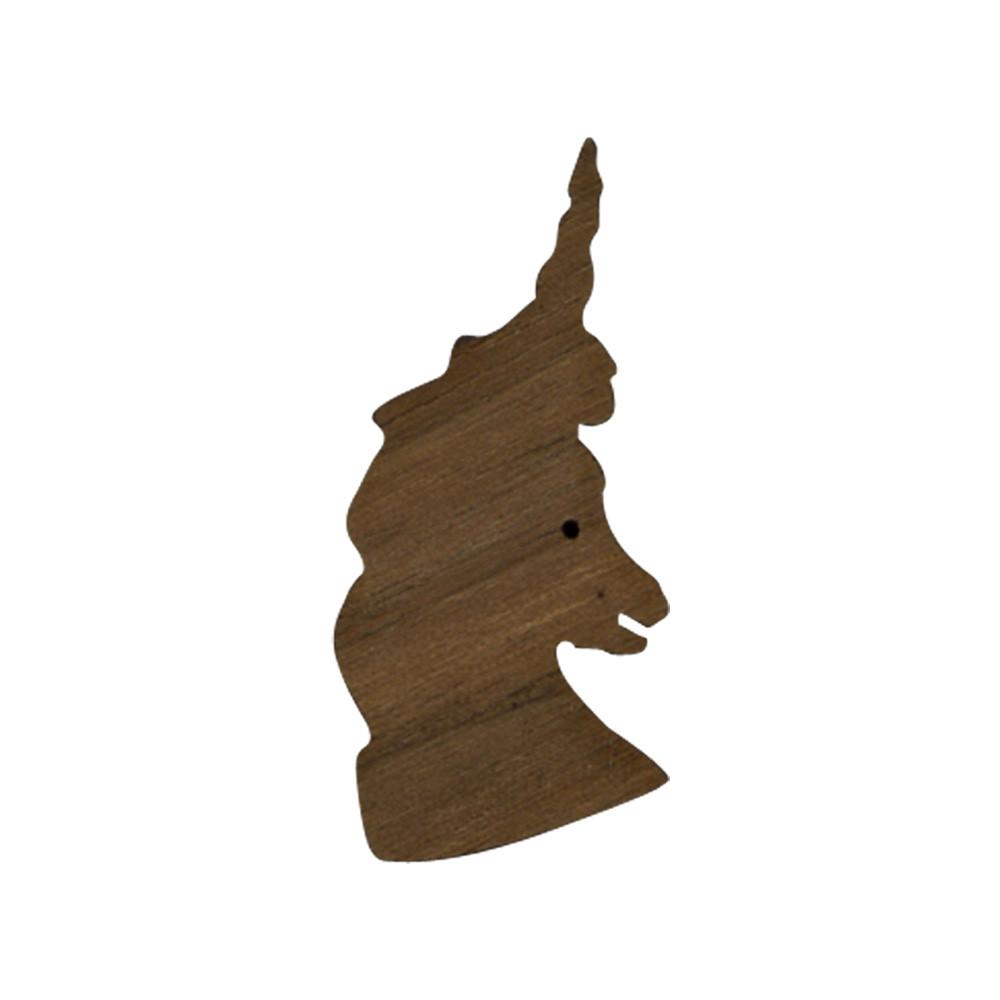 Wooden Unicorn Symbol