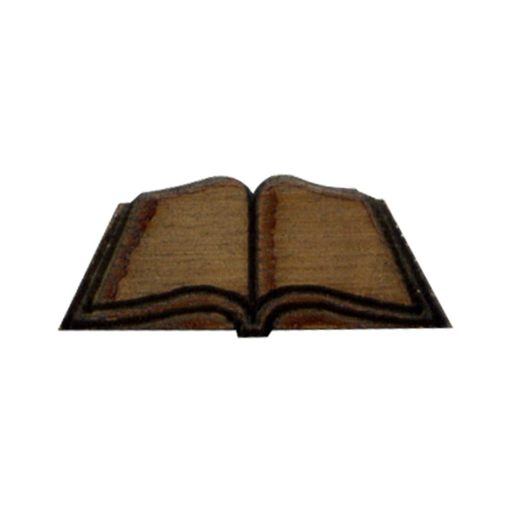 Wooden Book Symbol