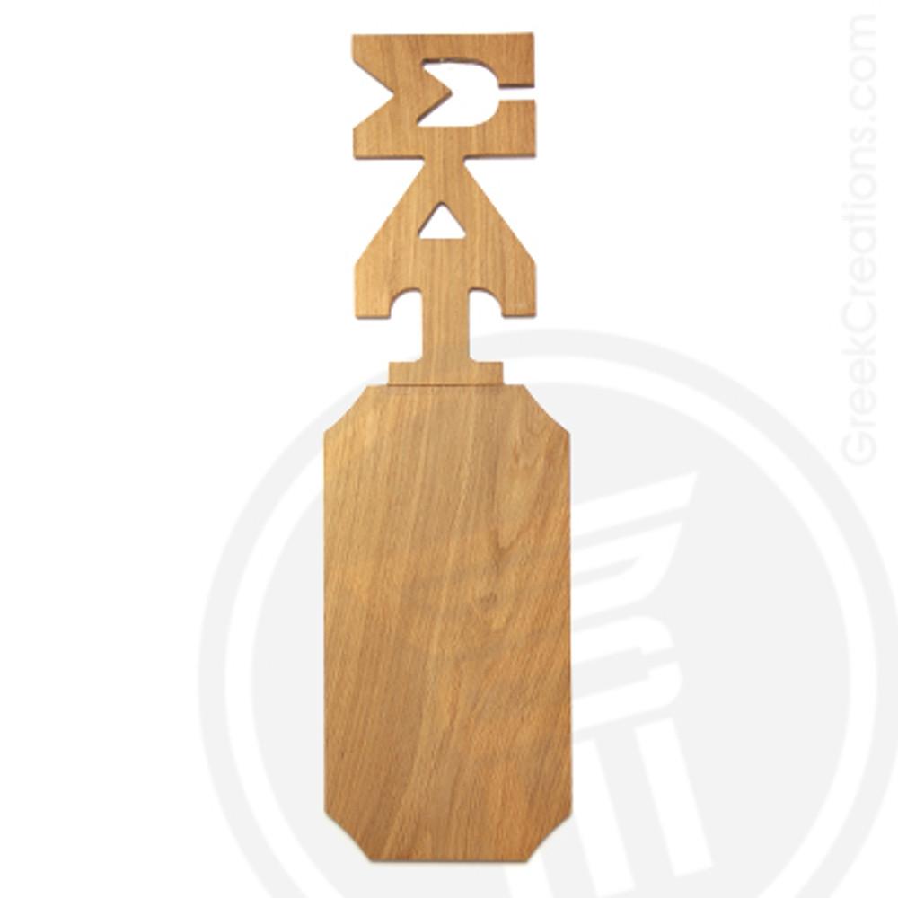 Sigma Delta Tau 21 Inch Blank Greek Letter Paddle