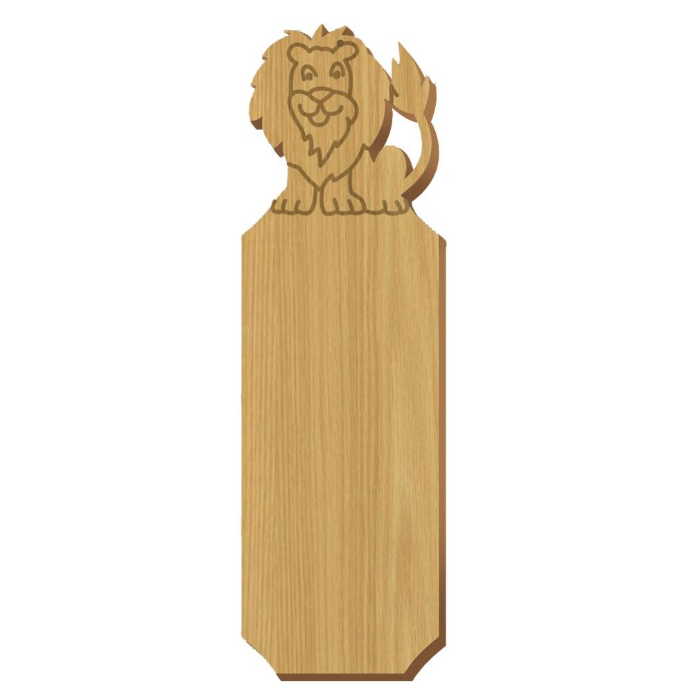 Alpha Epsilon Pi Lion Oak Plaque