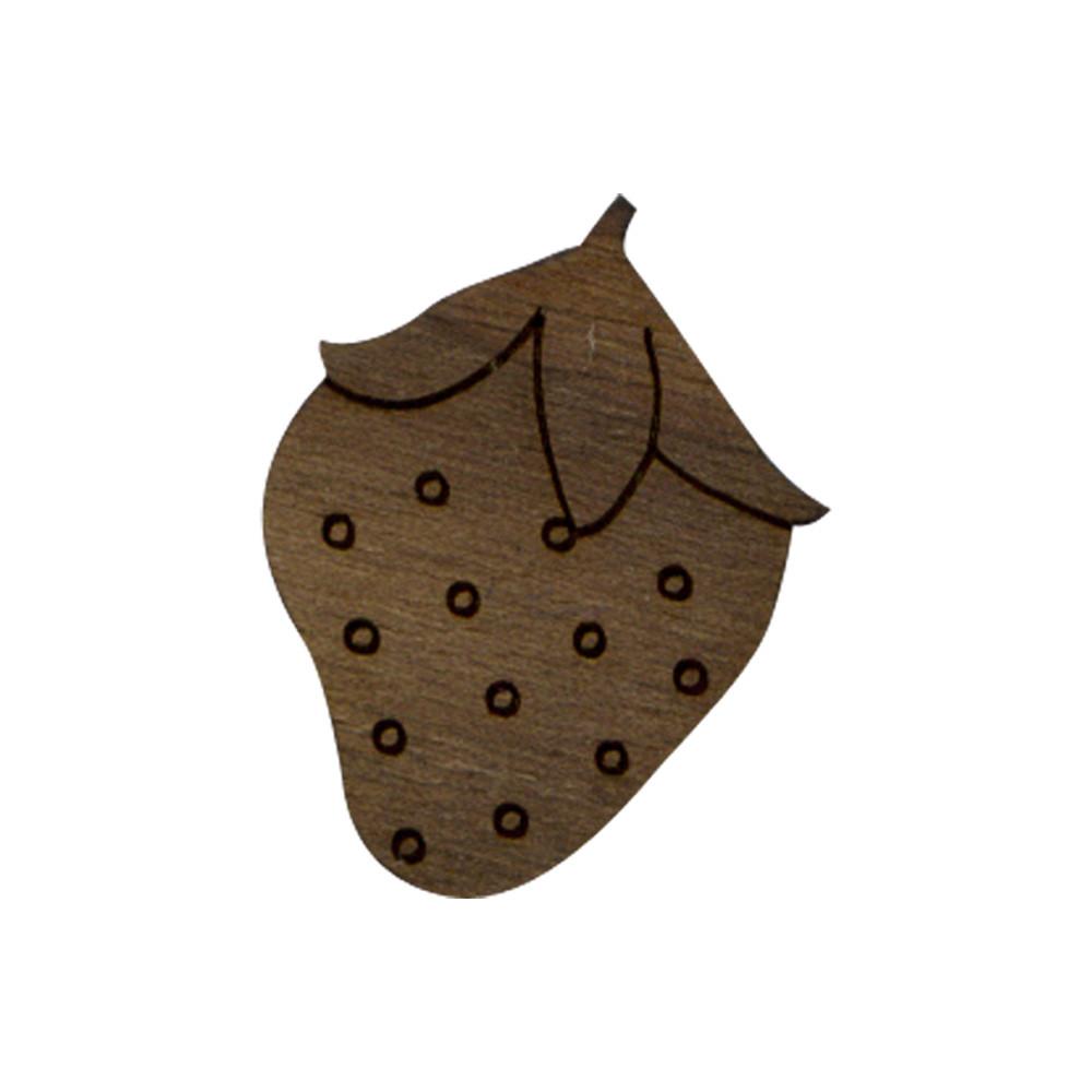 Wooden Strawberry Symbol