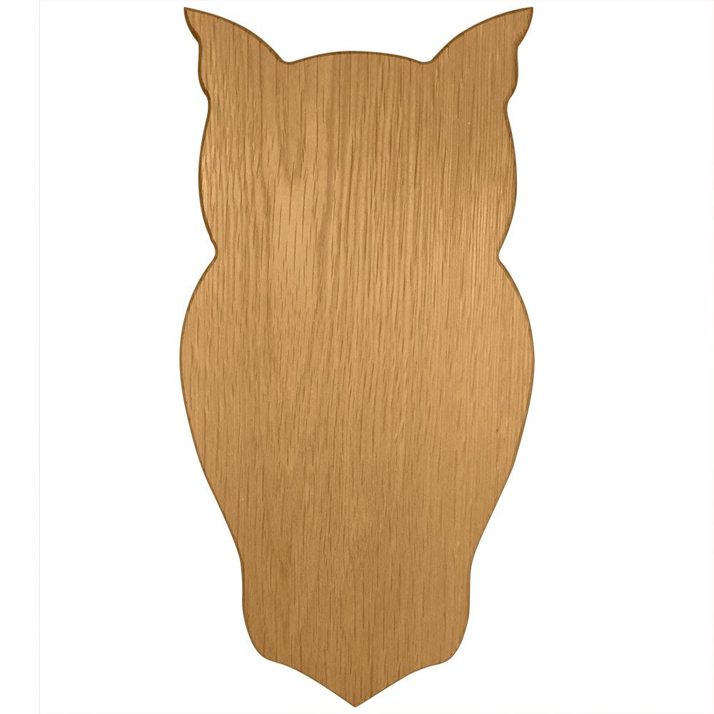 Chi Omega Large Owl Plaque