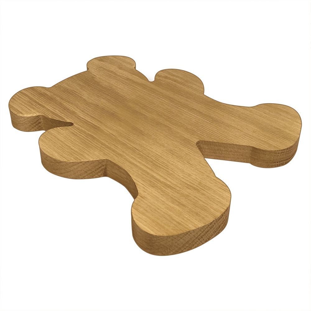Alpha Phi Bear Board or Plaque Side