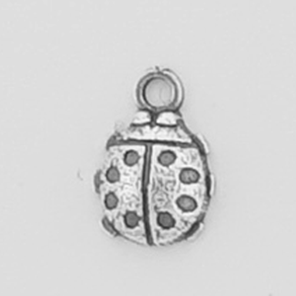 Sterling Silver Ladybug Symbol