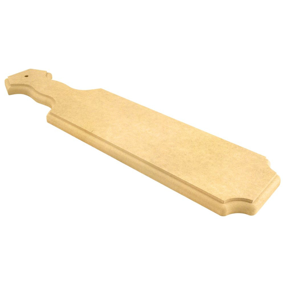 Fraternity and Sorority 21 Inch Blank MDF Paint-able Paddle A Side