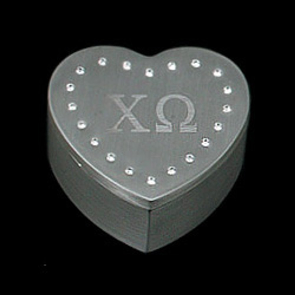 Jeweled Box Heart