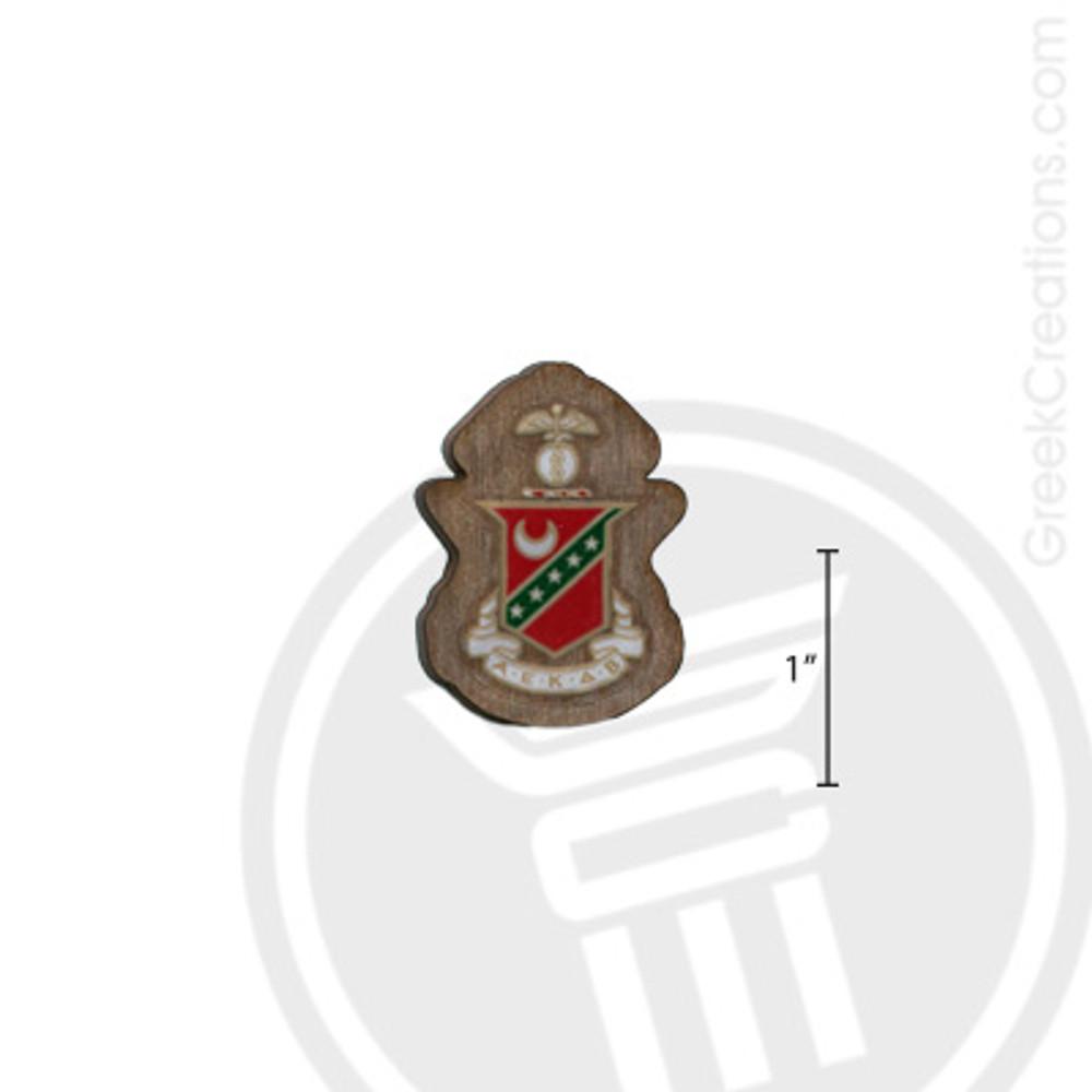 Kappa Sigma Small Raised Wooden Crest