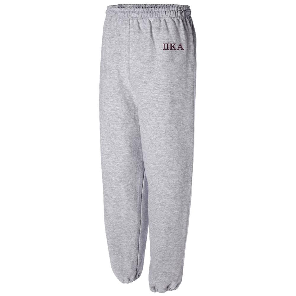 Sorority & Fraternity Embroidered Gildan Cuffed Sweatpants